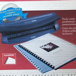GBC Docubind Personal Presentation Binding System Machine SHV6 Book Binder