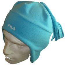 Fila beanie/skull Hat-Oreja flaps-light blue/blues-ski hat-size medio, de poliéster