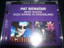 PAT BENATAR Best Shots / Wide Awake In Dreamland (Australia) 2 CD – New