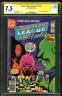 Justice League America 178 CGC SS 7.5 vs Desparo 1980 Issue 1 JIm Starlin Homage