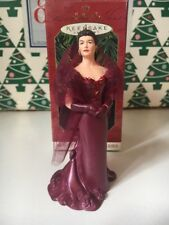 Scarlett O'Hara Gone With  Wind Christmas Hallmark Keepsake Ornament NIB