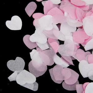 Mini Paper Love Heart Scatter Table Confetti Wedding Engagement Party Decor