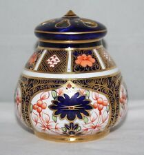 Royal Crown Derby - Imari 1128 - Lidded Pot Pourri - 1918 - vgc