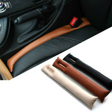 2x Universal Car Vehicle Seat Hand Brake Gap Filler Pad Leather Decoration Gift
