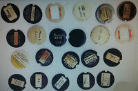 Western Electric telephone dial centers NEW card stock dial cards number cards 4