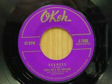 Little Joe and the Thrillers 45 Peanuts bw Lilly Lou on Okeh