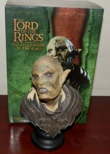 Lord of the Rings Orc Overseer figure BOXED SIDESHOW WETA