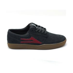 Lakai Griffin XLK Charcoal Suede Skateboard Shoe