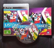 Just Dance 3 Special Edition (Sony PlayStation 3, 2011) PS3 Game - FREE POST
