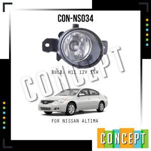 For 2010 2011 2012 Nissan Altima Halogen Fog Lights Left & Right Side