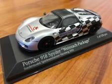 """1/43 Minichamps Porsche 918 Spyder """"Weissach Package"""" Spielwarenmesse Nurnberg"""