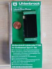 Uhlenbrock 77500 Lokdecoder Spur G,1,0 MOT/DCC mit Soundschnittstelle SUSI NEU