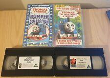 Thomas The Tank Engine Story And Song Collection Bumper VHS Classic Kids Tv