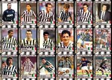 Juventus 1990 UEFA Cup Final winners football trading cards