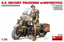 Miniart 35168 1/35 US Military Police With Motorcycle