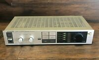 Vintage Silver Face Kenwood Stereo Integrated Amplifier KA-31  ~ Nice Component
