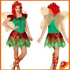 Costume Carnevale Halloween Donna Ragazza  Fata Verde Winx Trilly Tg 36-46