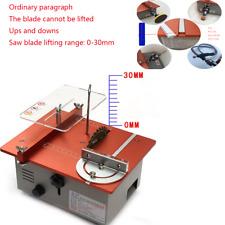 Precision Small Table Saw Mini Chainsaw Desktop Cutting Machine Multifunction