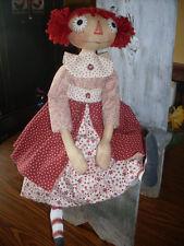 NEW~Primitive Raggedy Ann My Favorite Annie #153 PATTERN