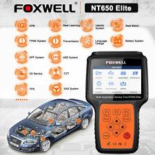 FOXWELL NT650 Elite OBD2 Diagnostic Scanner EPB BMS DPF ABS SRS Oil Reset Tool