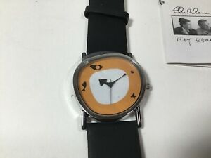 """Vintage ACME Studio """"Collage"""" RARE Wrist Watch by CHARLES & RAY EAMES"""