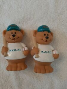 Florida MARLINS 1991 MLB RUSS berrie BEAR Water SQUIRTER (2) Rare hard to find