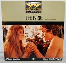 The Bible...In the Beginning (Laserdisc) SPECIAL WIDE SCREEN EDITION 2 DISCS