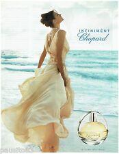 PUBLICITE ADVERTISING 115  2004  CHOPARD   pafum femme INFINIMENT