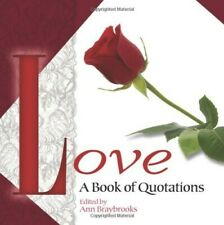 Love: A Book of Quotations - New Book
