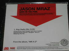 JASON MRAZ - Geek In The Pink - POP RADIO MIX - 1 Track DJ PROMO CD! RARE! OOP!