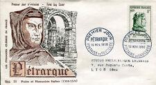 FRANCE FDC - 178 1082 2 PETRARQUE - 10 11 1956