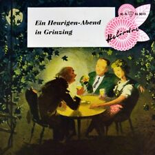 """7"""" HELGA SCHRAMM Ein Heurigen-Abend in Grinzing HELIODOR Wien EP 1958 NEUWERTIG!"""