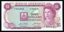 BERMUDA 5 DOLLARS 1970 P-24 aUNC (J-008)
