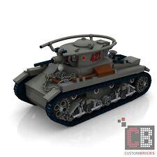 CUSTOM PDF Bauanleitung WW2 WWII Sovjet T26 Ausf-B Panzer Tank für LEGO® Stein