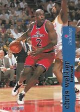 Chris Webber 1995-96 Season Basketball Trading Cards