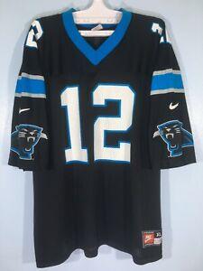 Vintage Carolina Panthers Kerry Collin NFL American Football Jersey USA Shirt XL