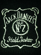 Jack Daniels Old No.7 Field Tester Vintage Knit Beanie Hat Cap Bourbon Whiskey