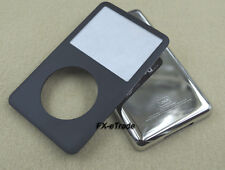 Front Faceplate Fascia Back Housing Case Cover for iPod 6th Classic 120GB Black