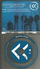 MERCYME Mercy Me Here with Me 2004 USA MIN PROMO DJ CD single cool disc minimaxi