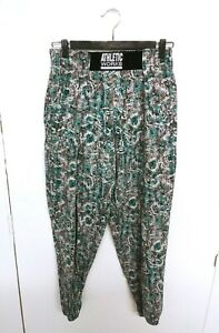 Vtg 1980 Athetic Works athlete beach parachute body builder pant Made in USA (S)