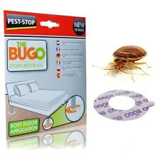 'THE BUGO' BED BUG TRAPS - Pack 12 - Soft Floor Application - Stops Bedbugs