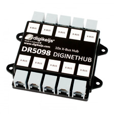 DIGIKEIJS DR5098 DigiNetHub - 10 Way XpressNet X-Bus Splitter - Hub ~ Lenz, CVP