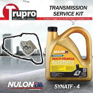 Nulon SYNATF Transmission Oil + Filter Service Kit for Nissan X-Trail 01-07