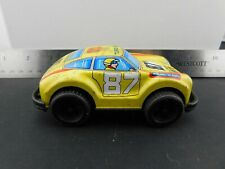 PORSCHE 911 TURBO VINTAGE TIN PLASTIC RACE TOY FRICTION CAR FROM JIMMY TOYS #MJ7