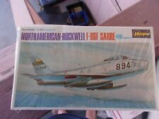 Hasegawa MiniCraft North Amercian Rockwell F-86F Sabre Model Airplane Kit Sealed