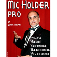 Microphone Holder Neck Harness Adjustable Hands Free Mic Magician Musician Emcee