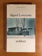 Sigurd Lewerentz, Architect 1885-1975, excellent condition, timeless