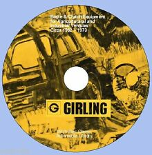 Informations sur Girling Frein & Embrayage Agricole & Industriel 1964 To 1972 DVD