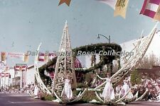 """CA047 35mm Slide Rose Parade, Union Oil Co. Hollywood, 1970""""S Rose Parade Movies"""