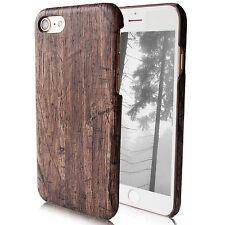 Schutz Hülle für iPhone 7 7s  Natur Vintage Holz Grau Braun Case Cover